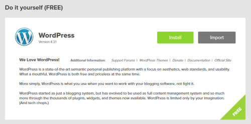 Install WordPress - Step 3